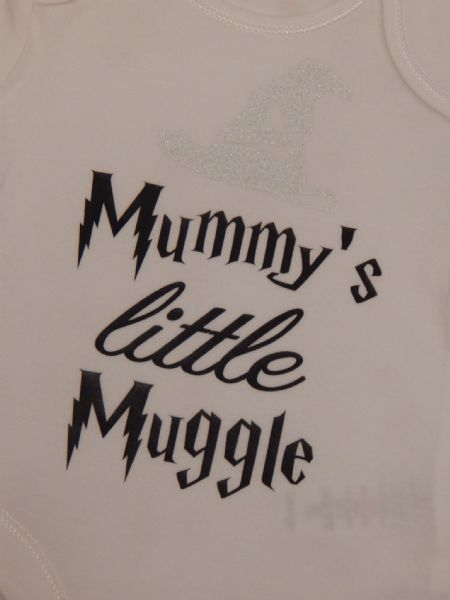 Mummy's Little Muggle Personalised Baby Vest